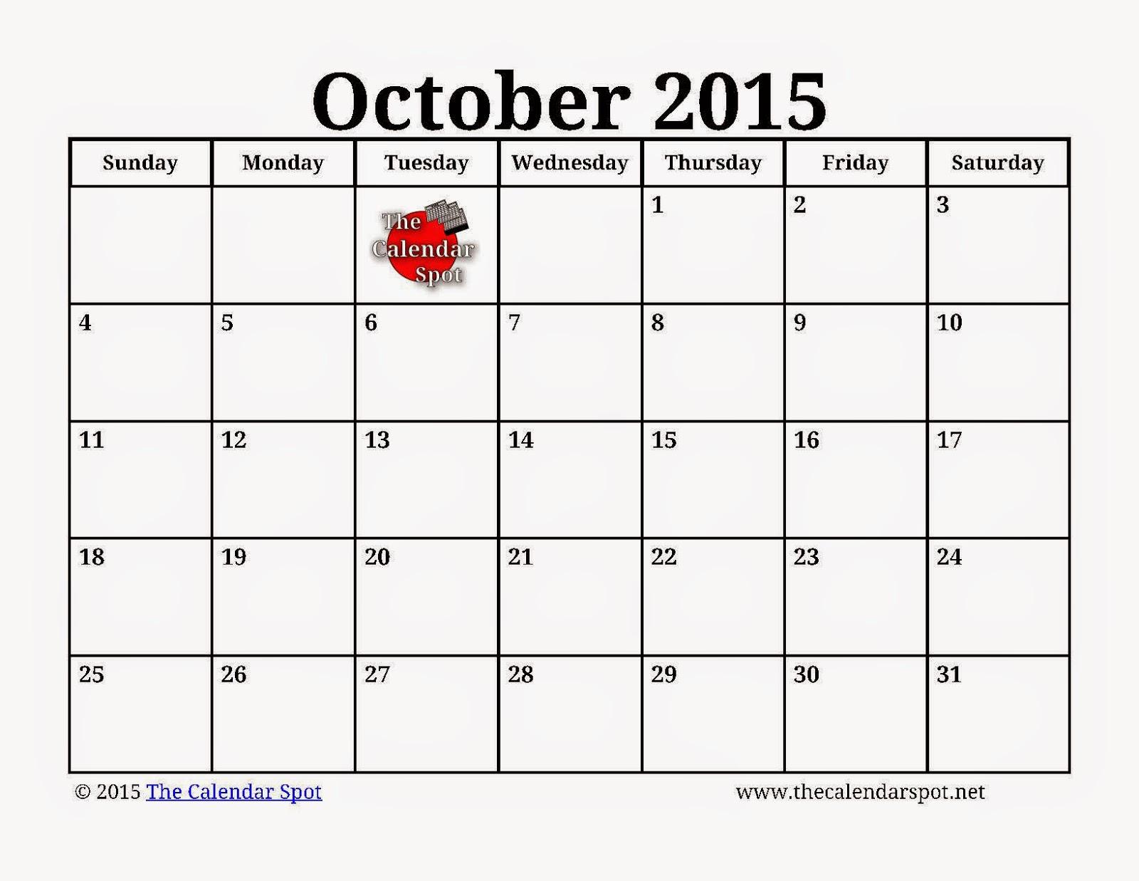 October 2017 Calendar Archives - Calendar Printable Hub