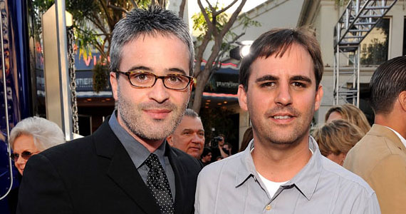 Roberto Orci and Alex Kurtzman posing for a photo