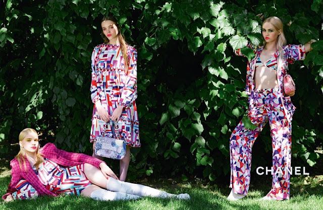 Chanel Cruise Campaign 2016