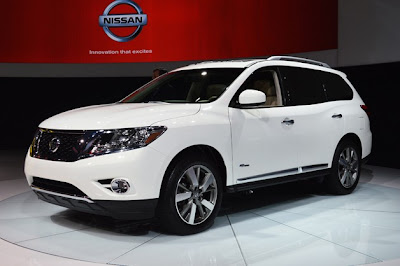 Autos Eco friendly: Nueva York 2013: Pathfinder 2014 Hybrid.