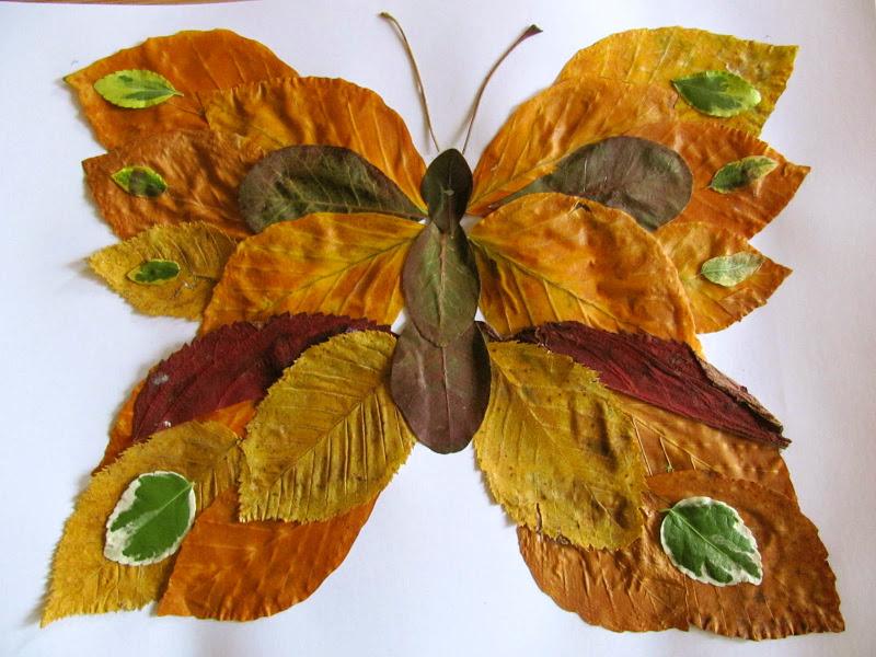 Jumble Tree Leaf Art And A Handy Gift Idea