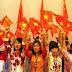 Cờ sao và màu cà vạt Việt - Trung