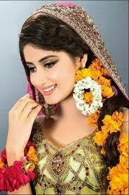 Sajal ali New Bridal look