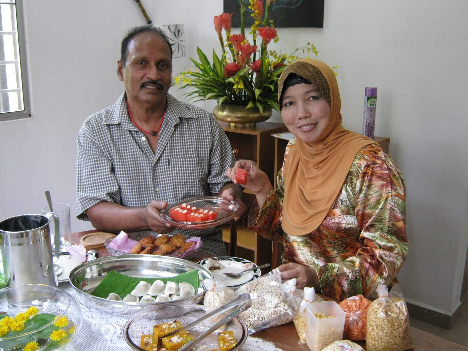 With chef Norzaillina Nordin