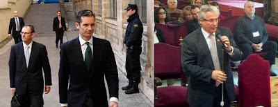 IIñaki Urdangarín, Baltasar Garzón, imputados