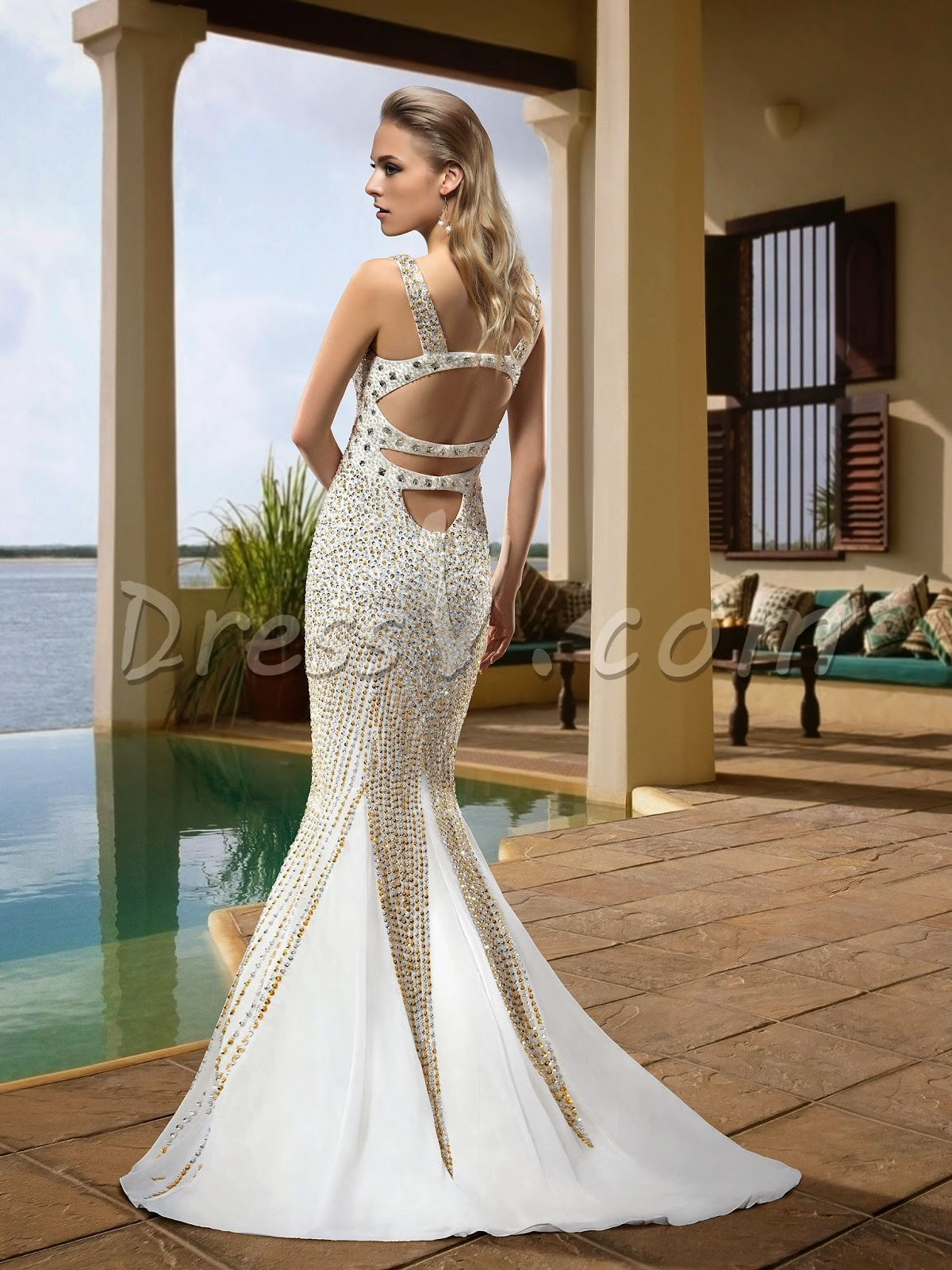 Sexy Mermaid Wedding Dresses at DressV