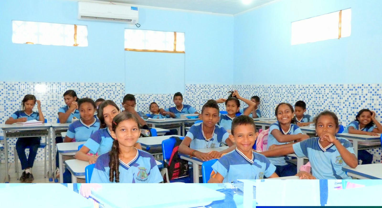 ar-condicionados nas escolas de Rosário