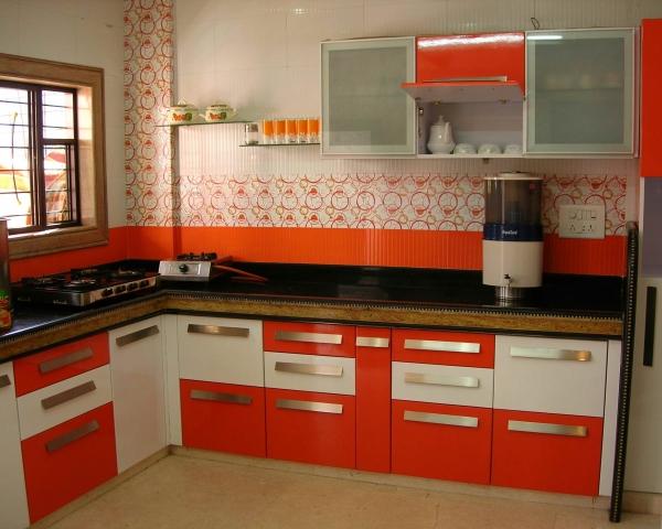Imazination modular kitchen for Semi modular kitchen designs