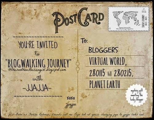 - Blogwalking Journey With JJAJJA -