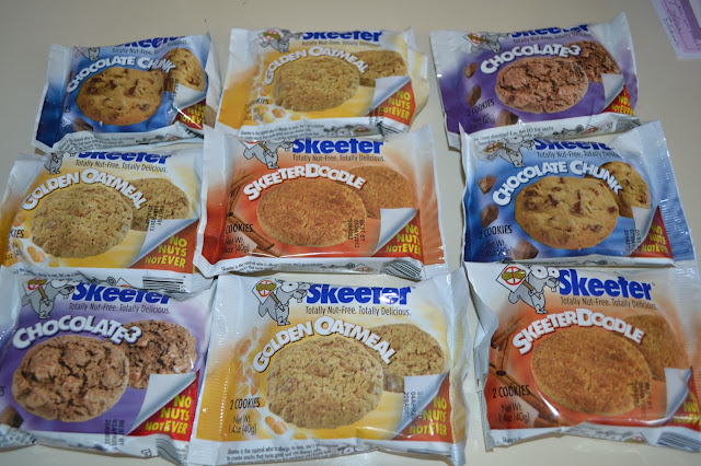 Skeeter Nut-free snacks, peanut free cookies