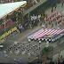 Hari Kemerdekaan....Bendera Malaysia Diusung Terbalik!!