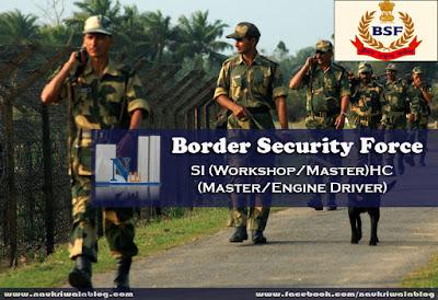 SI (Workshop/Master)HC (Master/Engine Driver) Job 2015