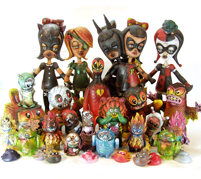 Leecifer's San Diego Comic-Con 2012 Exclusive Custom Vinyl Figures