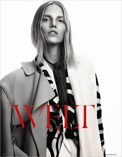 Magazine Photoshoot : Suvi Koponen Photoshot For Cover for Vogue Magazine Alemanha Fevereiro 2014 Issue
