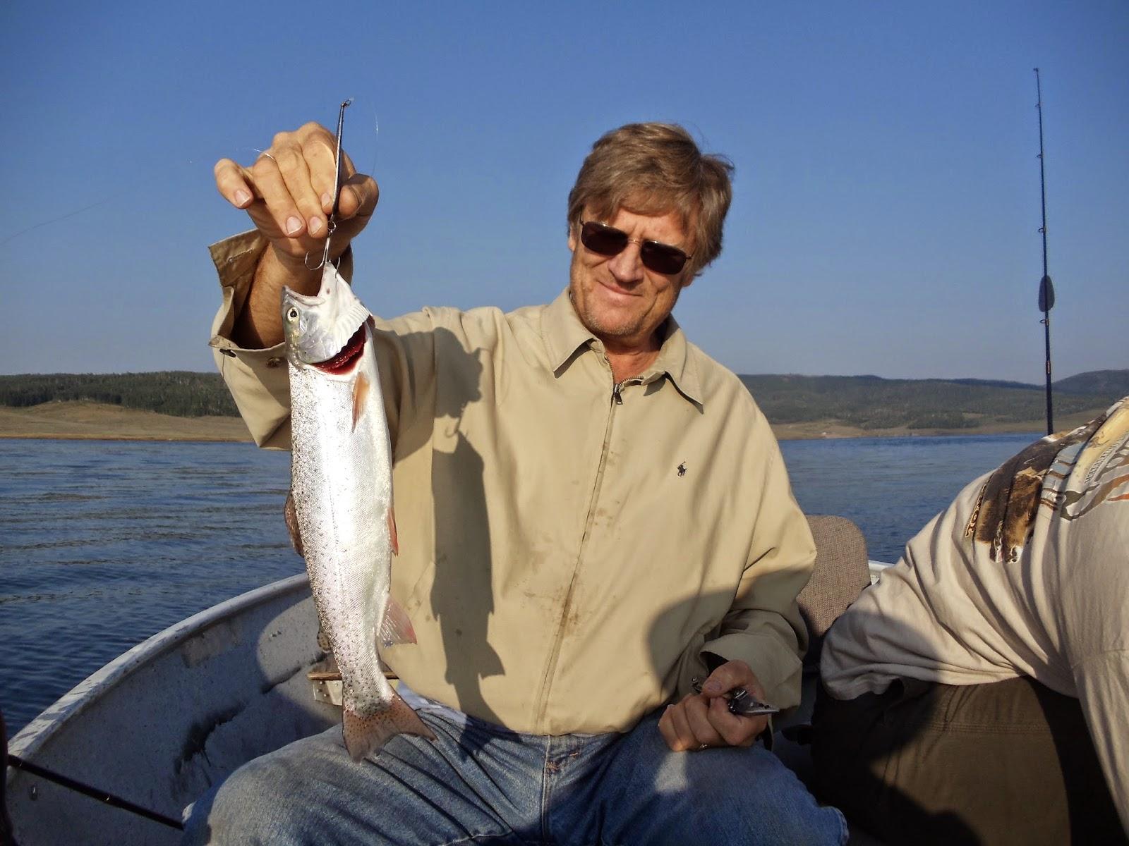 Utah fisherman fast summer action at strawberry reservoir for Strawberry reservoir fishing
