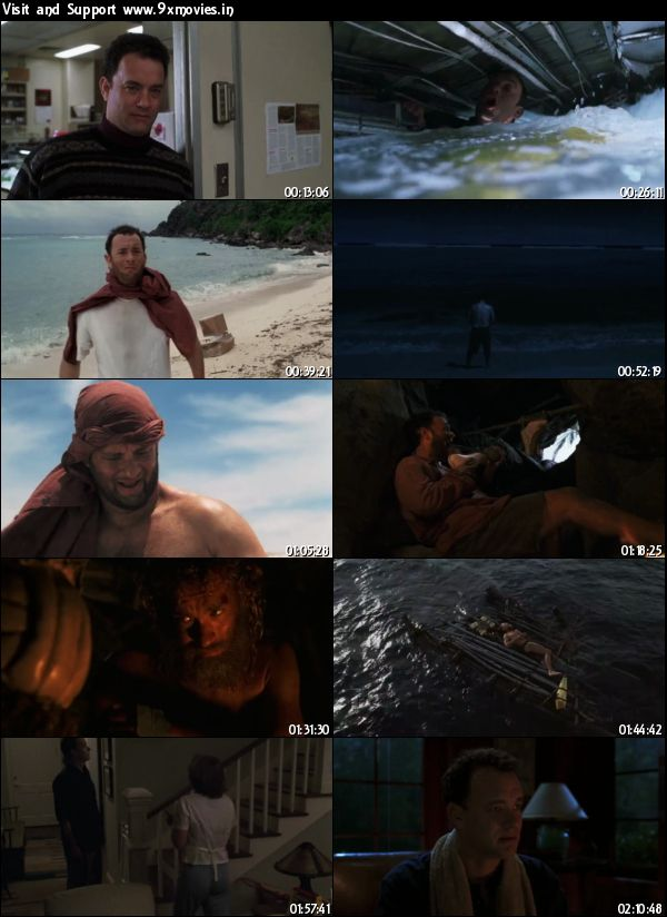 Cast Away 2000 Hindi Dubbed 480p BluRay 400mb