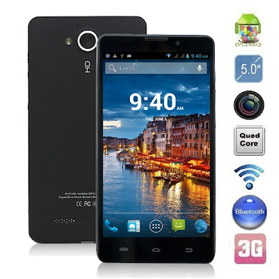 Star Q9000 WITH MTK6589 Quad Core 1.2GHz 3G Smartphone with Android 4.2.1 5.0'' IPS Super HD Screen/13.0MP Camera