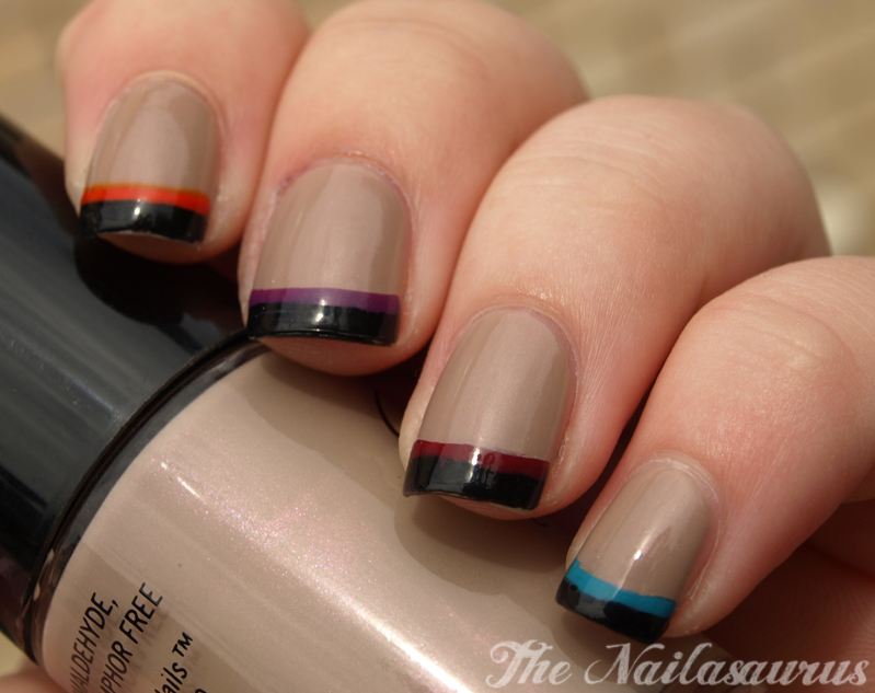 Tip Colour w7 Black Pinky to
