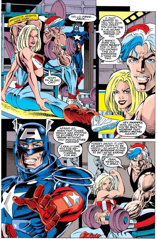 Captain America (1968) Issue #442 #396 - English 4