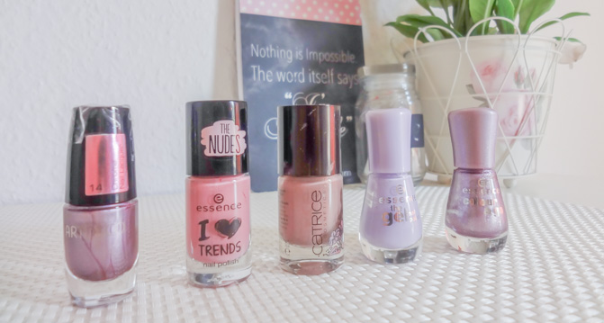 Nagellack Pink/Lila
