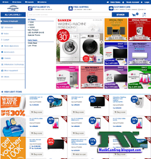 nama toko online terpercaya electroniccity.com