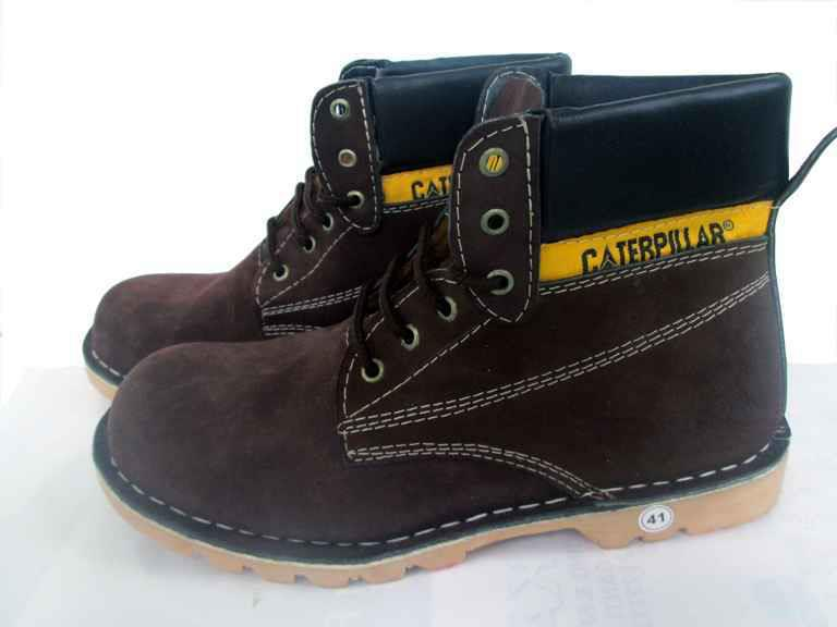 NICKY MALE FASHIONABLE Sepatu Safety Boots CATERPILLAR Trendy