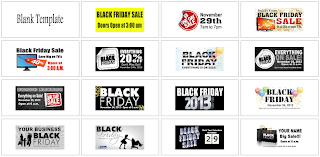 Black Friday Banner Templates