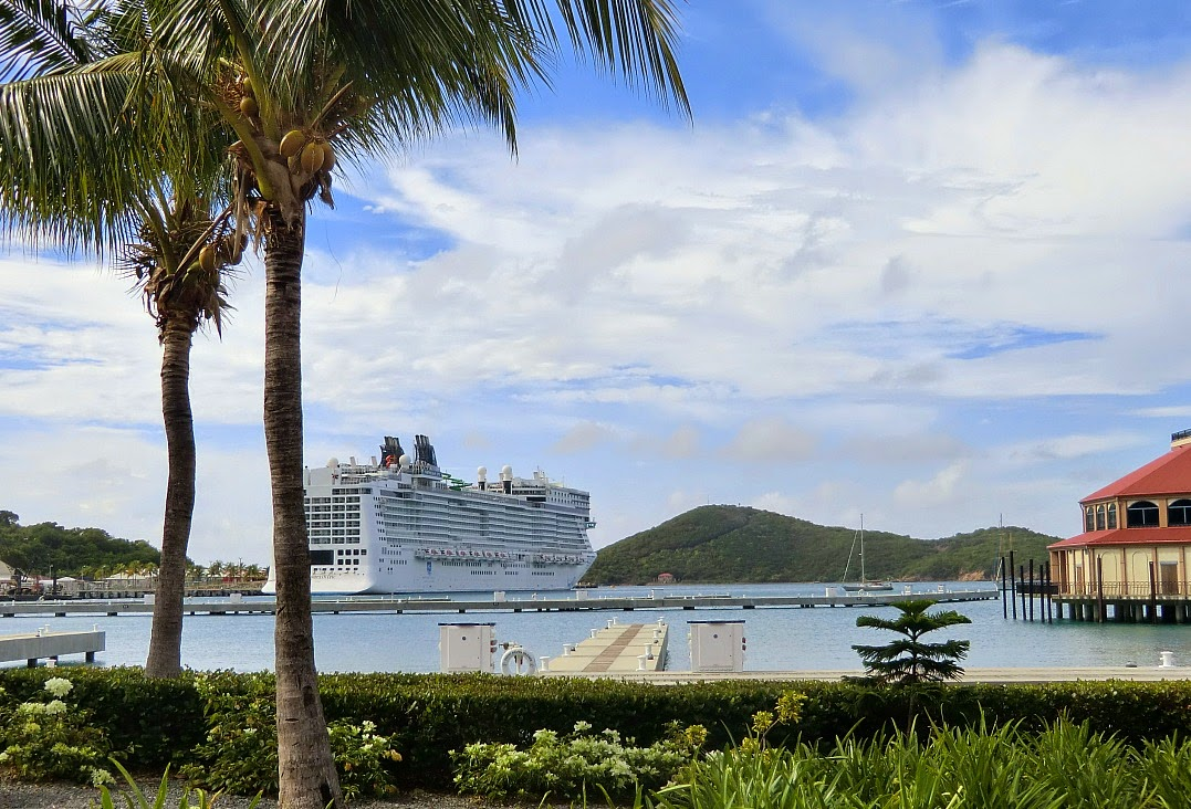 Norwegian Epic in St Thomas