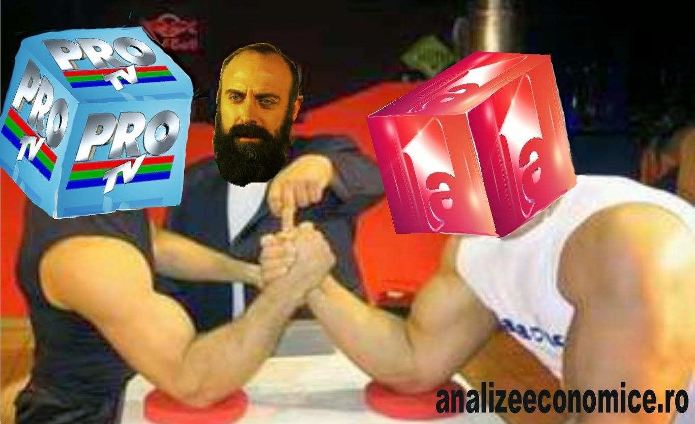 Pro Tv versus Antena1
