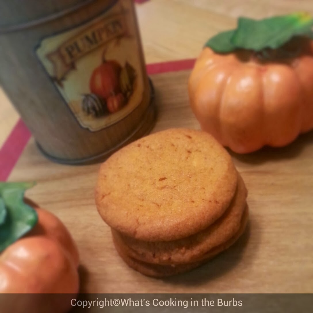 What's Cooking in the Burbs: Pumpkin Spice Sugar Cookies