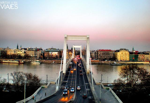 puente de isabel en budapest