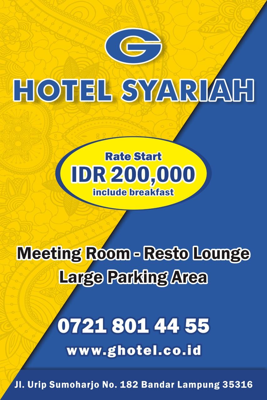 G Hotel Syariah Bandar Lampung