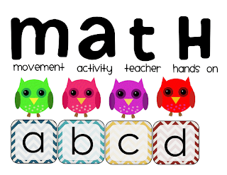 Math: Movement, Activity, Teacher, Hands On