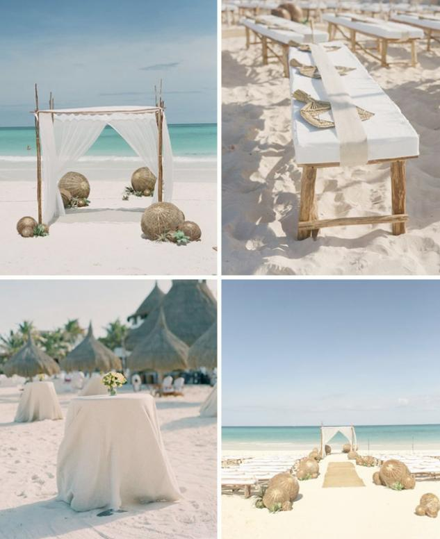 Beach Wedding Ideas Makes Dresses, Cakes and Decor More Exiting