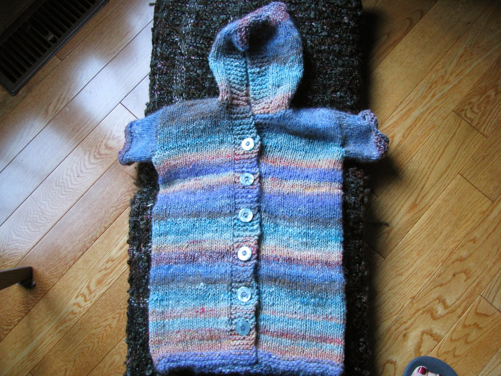 Knitting Pattern Baby Bunting : Chris Knits in Niagara: Baby Bunting Coat