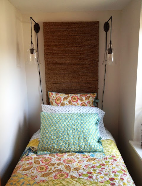 Loft Amp Cottage Diy Jute Wrapped Headboard