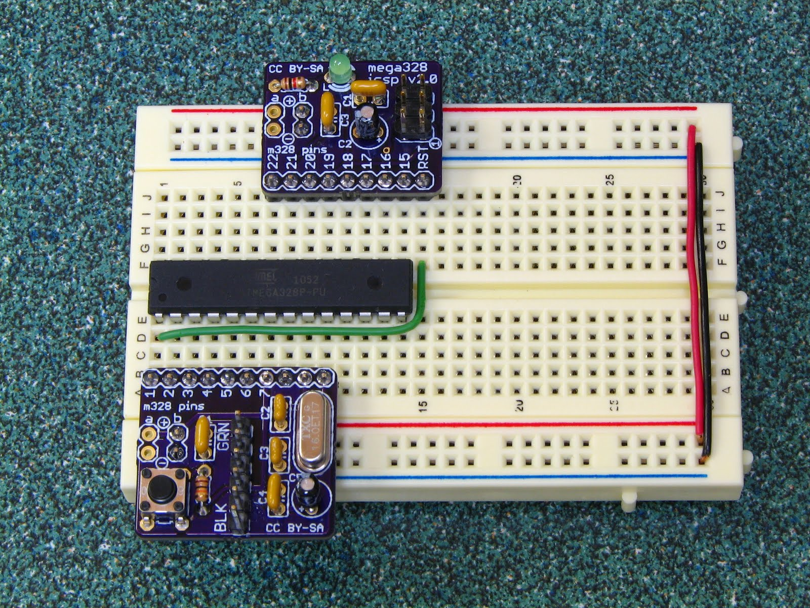 Adventures In Arduinoland Arduino Breadboard Helpers Breadboards Electronics Images An Compatible Made With