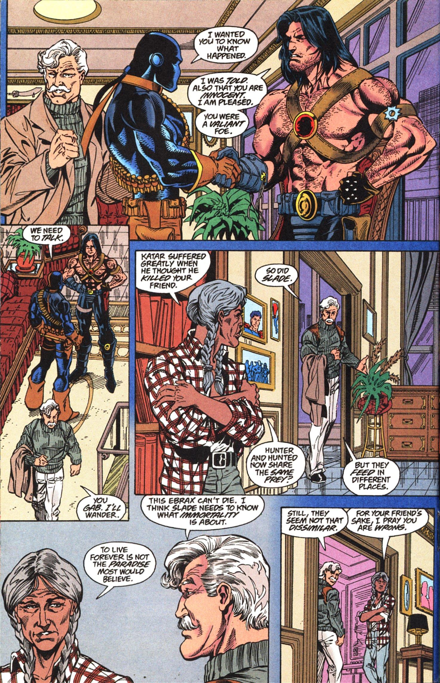 Deathstroke (1991) Issue #52 #57 - English 13