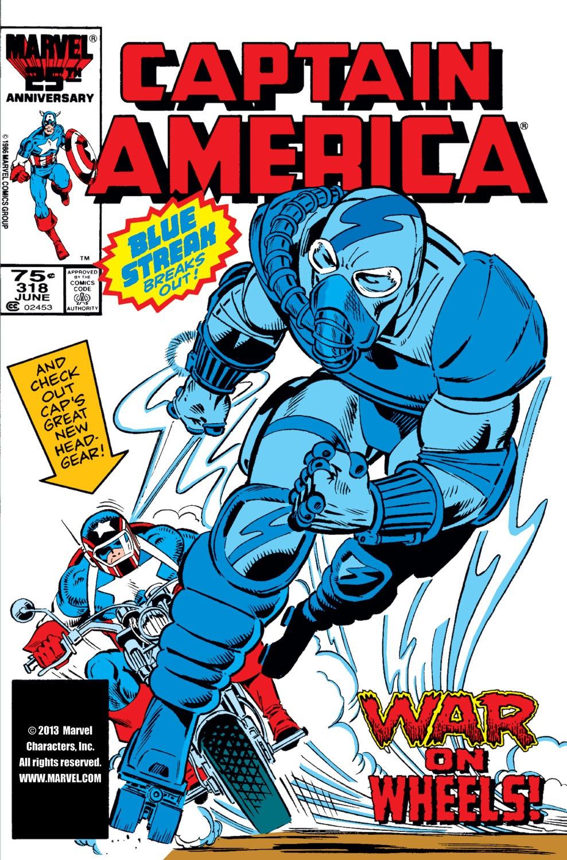 Captain America (1968) Issue #318 #246 - English 1
