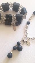 En vackert smycke set vann jag hos Daily life with Anita