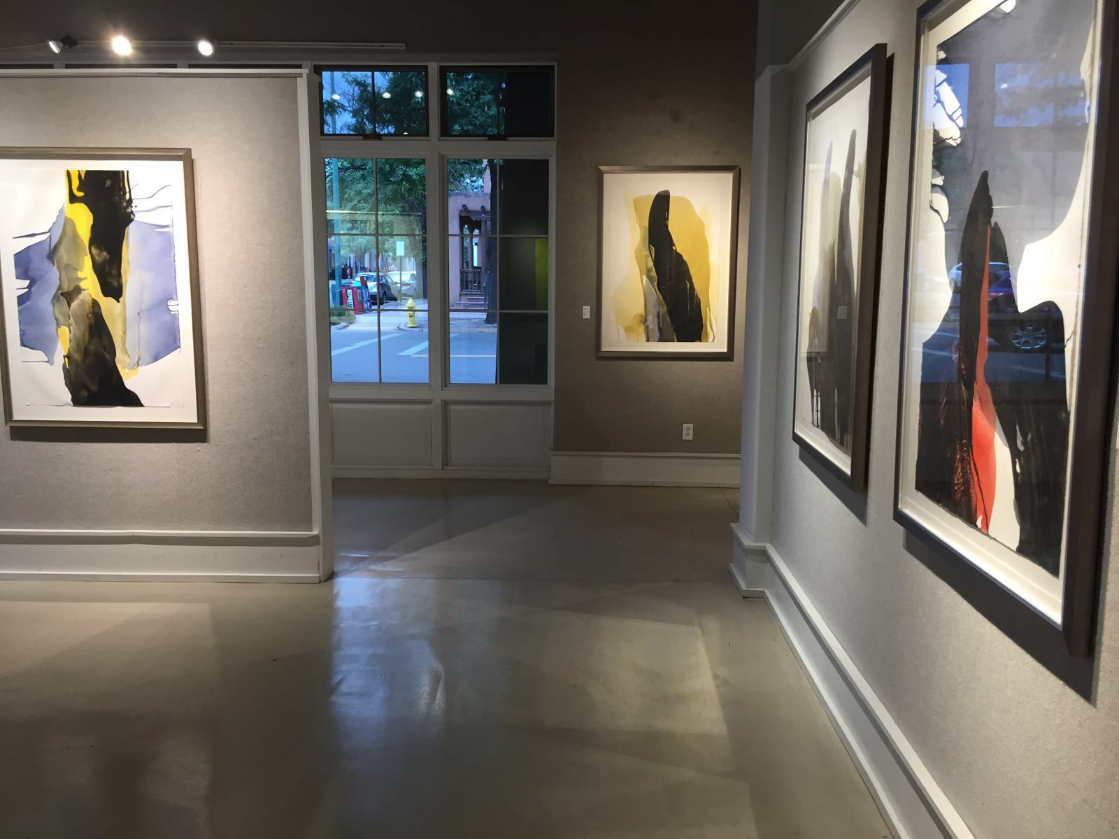 Exhibit at Dvaid Rothermel Santa Fe, JUly 2016