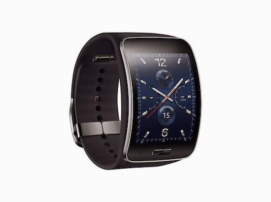 A Samsung anunciou o relógio inteligente Gear S e um fone de ouvido chamado Gear Circle