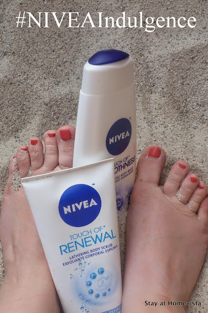 Beach ready feet and some mommy pampering with #NIVEAIndulgence