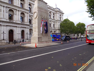 The Cenotaph at Whitehall