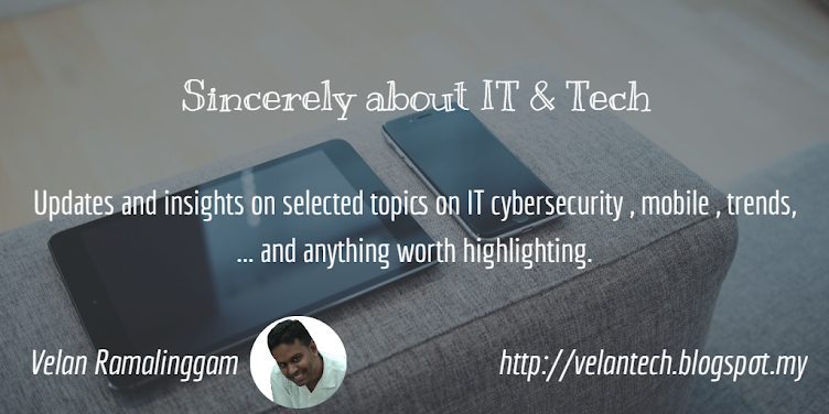 Sincerely about IT & Tech , by Velan