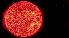 El sol nos lleva a una mini edad de hielo.