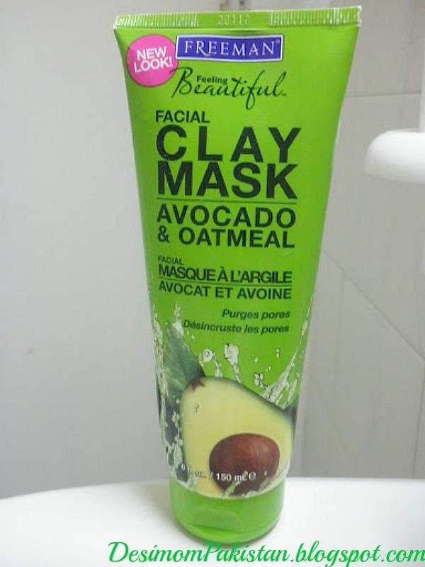 Freeman Facial Clay Mask Avocado And Oatmeal