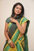 glamorous Anu Sri saree photos-thumbnail-16