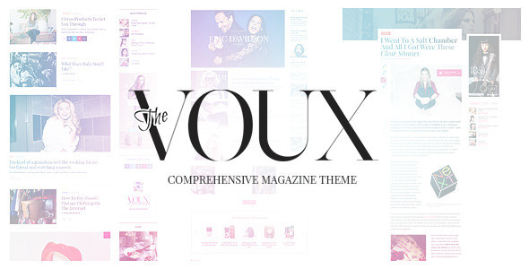 Free Download The Voux - A Comprehensive Magazine Theme