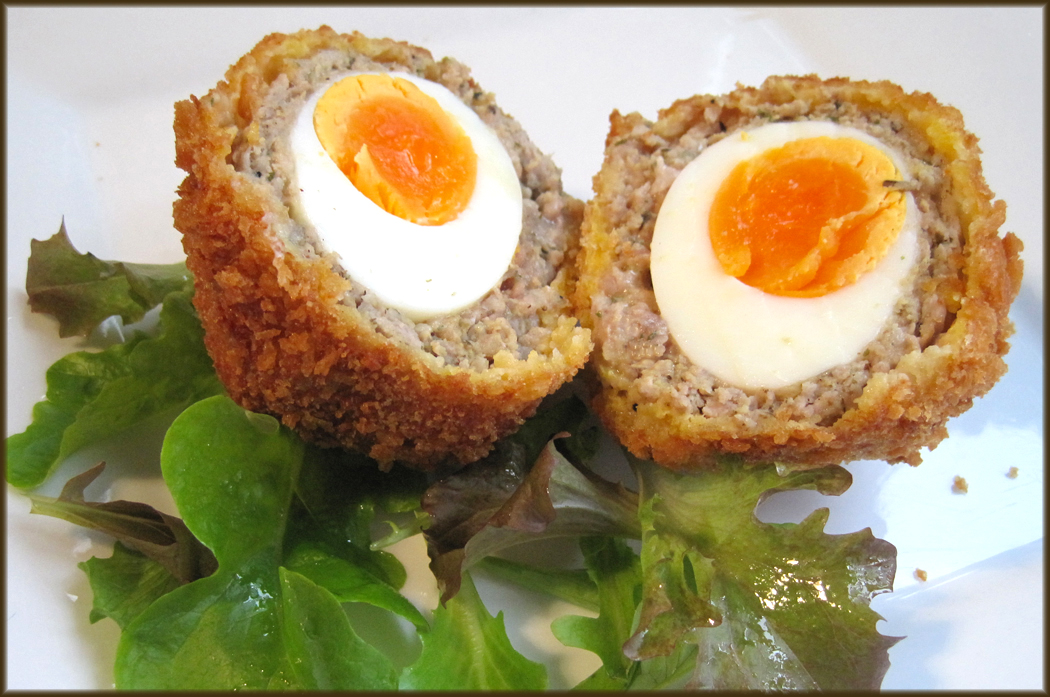 Scotch Egg Recipe Scotch eggs may cause a little
